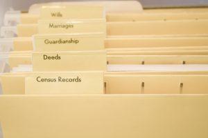 genealogy folders